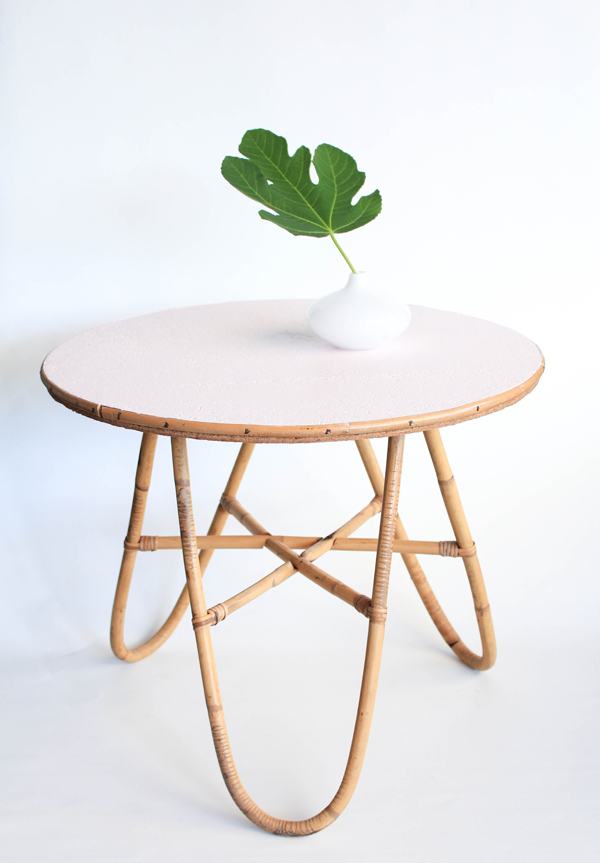 Table en rotin les happyvintage - Table basse en osier ...