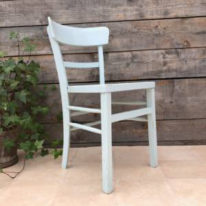 Chaise Bistrot Bleue